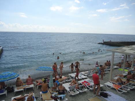 алупка пляжи 2016