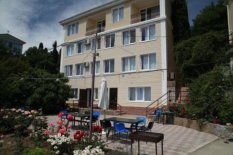 гостиницы отели у моря в Алупке Крым