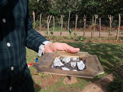 осколки метеорита куба