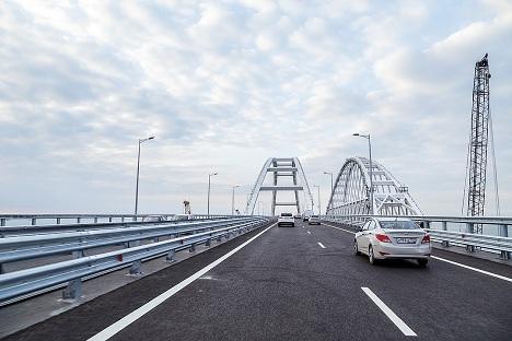 крымский мост правила проезда