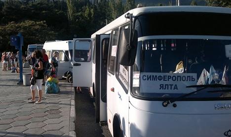 автобус симферополь ялта