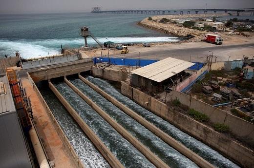 опреснительный завод израиль